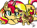 highres kikirdcz sunset_shimmer toy