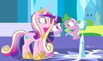 crystal_empire crystal_heart dm29 princess_cadance princess_twilight spike twilight_sparkle