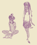 book glasses humanized shaburdies sketch twilight_sparkle