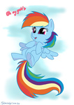 filly melancholychoice rainbow_dash