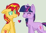 liighty shipping sunlight sunset_shimmer twilight_sparkle