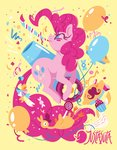balloon cake cannon justasuta party_cannon pinkie_pie