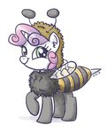 bees beeutiful costume king-kakapo sweetie_belle