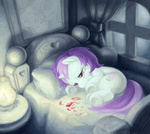 background_ponies baww bed naaaaar tears valentine