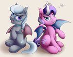 ac-whiteraven bat_pony diamond_tiara highres silver_spoon