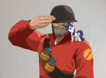 ah-darnit crossover rarity soldier team_fortress_2