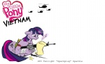dagger gun helicopter injured knife magic military quill rifle teddyhands twilight_sparkle weapon