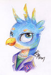gallus moonlight-ki traditional_art