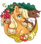 absurdres apple_bloom applejack big_macintosh granny_smith highres waffleponypanda winona