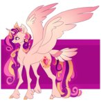 ectopi princess_cadance redesign