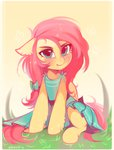 dress fluttershy highres zoliklispp