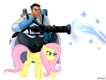 :i crossover fluttershy medic payface team_fortress_2