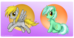 derpy_hooves highres lyra_heartstrings mn27