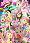 breezie caibaoreturn catsuit flutterbat fluttershy highres humanized power_ponies rainbow_power