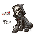 crossover highres ogre overwatch ponified reaper