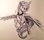 princess_luna sigilponies traditional_art