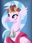 cloudyglow costume flowers highres silverstream