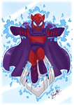 dawnallies magneto marvel_comics ponified x-men
