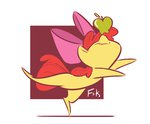 absurdres apple_bloom apples fluttershythekind highres