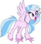 absurdres cloudyglow highres silverstream vector