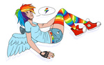 humanized rainbow_dash siemari