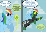 bb-shockwave comic crossover dc_comics green_lantern rainbow_dash
