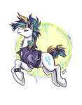 kiriska punk_rarity rarity traditional_art