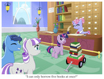 book filly inkwell library muffinshire original_character parents quill stamp twilight's_dad twilight_sparkle twilight_velvet wagon