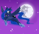 mare_in_the_moon moon princess_luna toxicunicorns