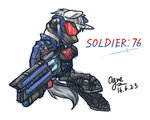 crossover gun ogre overwatch ponified soldier_76 weapon