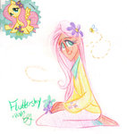 bees egriz flowers fluttershy humanized