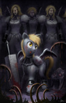 47ness armor claymore crossover derpy_hooves violence weapon