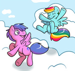 firefly g1 generation_leap rainbow_dash technicolor_pie