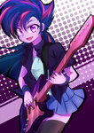caibaoreturn equestria_girls guitar humanized manecut twilight_sparkle