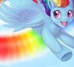 laurenmagpie rainbow_dash sonic_rainboom