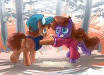 dipper_pines gravity_falls hoofbump mabel_pines ponified stupjam