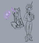 anthro earthsong9405 glasses highres twilight_sparkle