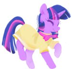 dancing dress princesssnapdragon twilight_sparkle