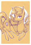 book fanch1 highres magic princess_twilight scroll traditional_art twilight_sparkle