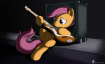bass_guitar guitar i_shall_not_use_my_hooves_as_hands instrument sad scootaloo tetrapony