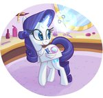 comb magic mirror ponygoggles rarity scissors