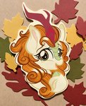absurdres autumn_blaze emberslament highres kirin traditional_art
