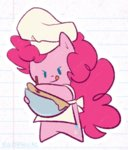 animated bowl egophiliac hat lowres mixing pinkie_pie