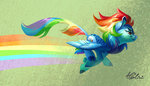 holivi kirin rainbow_dash species_swap