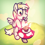derpy_hooves lamarthehuman muffin on_fire