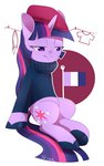 aosion beret highres sweater twilight_sparkle