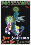 absurdres bioshock dsmo highres parody poster queen_chrysalis shining_armor