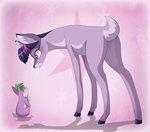 deer dennyvixen rabbit species_swap spike twilight_sparkle