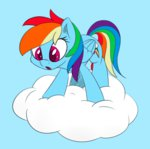 cloud esfelt highres rainbow_dash