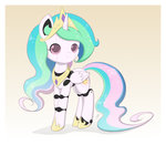 cyberia_heart jdan-s nightmare_night original_character princess_celestia robot